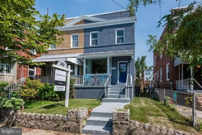 Washington Townhouse For Sale: 719 Tuckerman Street NW