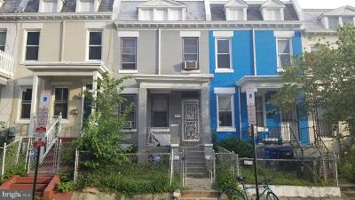 Columbia Heights Townhouse For Sale: 766 Columbia Road NW