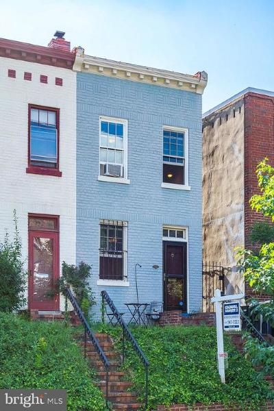 Washington DC Townhouse For Sale: $749,000