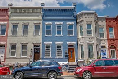Washington Townhouse For Sale: 313 Elm Street NW