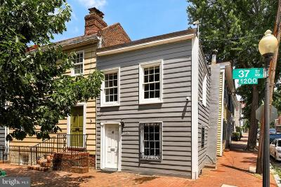 Georgetown Townhouse For Sale: 1225 37th Street NW