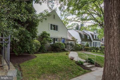 Washington Single Family Home For Sale: 4810 Rodman Street NW