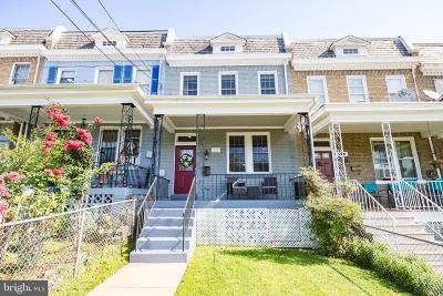 Townhouse For Sale: 1215 Ingraham Street NW