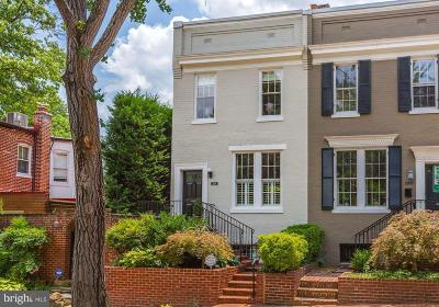 Washington Single Family Home For Sale: 2908 R Street NW