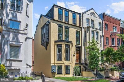 Washington DC Townhouse For Sale: $3,095,000