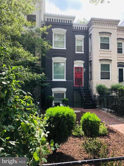 Washington Townhouse For Sale: 1630 New Jersey Avenue NW