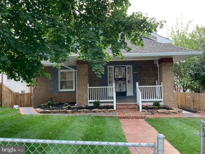 Single Family Home For Sale: 5430 N Capitol Street NW