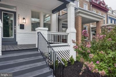 Washington Townhouse For Sale: 222 V Street NE