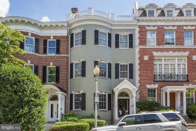 Washington Townhouse For Sale: 2110 Bancroft Place NW