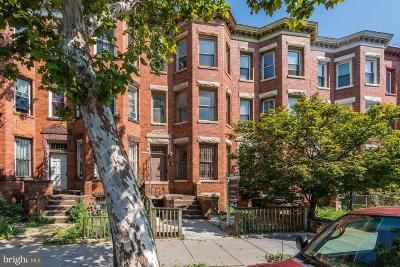 Columbia Heights Townhouse Under Contract: 1357 Monroe Street NW