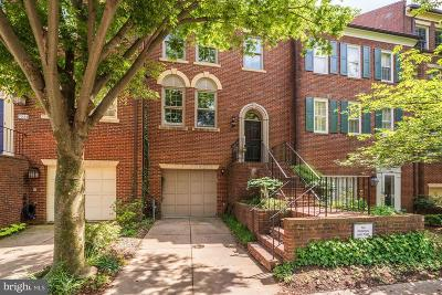 Georgetown Townhouse For Sale: 3540 Winfield Lane NW