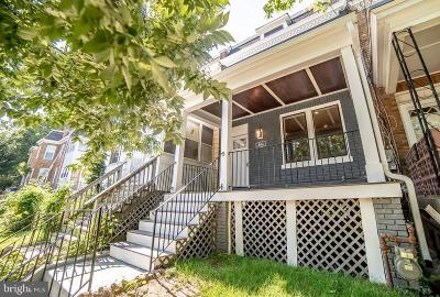 Petworth Townhouse For Sale: 804 Decatur Street NW