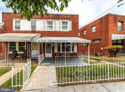 Washington DC Single Family Home For Sale: $599,000