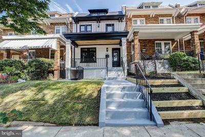 Petworth Townhouse For Sale: 415 Decatur Street NW