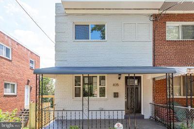 Washington DC Townhouse For Sale: $585,000