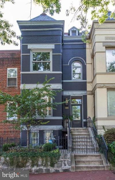 Washington Townhouse For Sale: 1954 2nd Street NW