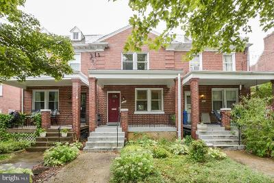 Washington Townhouse For Sale: 4435 13th Street NE