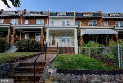 Washington Townhouse For Sale: 1318 Queen Street NE