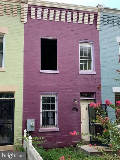 Washington Townhouse For Auction: 1417 K Street SE
