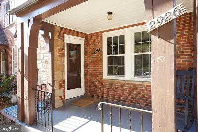 Washington County, Prince Georges County, Montgomery County Rental For Rent: 2926 38th Street NW