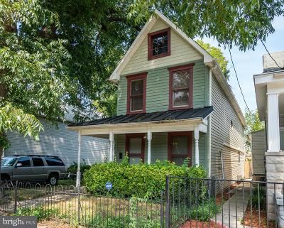 Washington Single Family Home For Sale: 1630 U Street SE