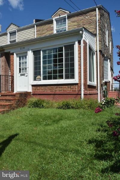 Washington Single Family Home For Sale: 5110 Jay Street NE