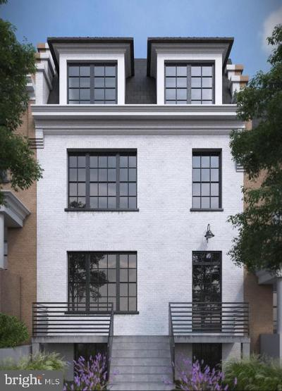 Washington Townhouse For Sale: 2910 18th Street NW