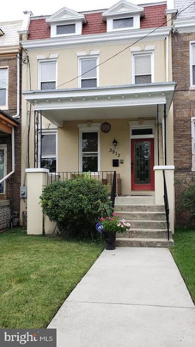 Washington Townhouse For Sale: 3913 Illinois Avenue NW