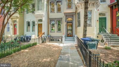 Washington Townhouse For Sale: 1509 Vermont Avenue NW