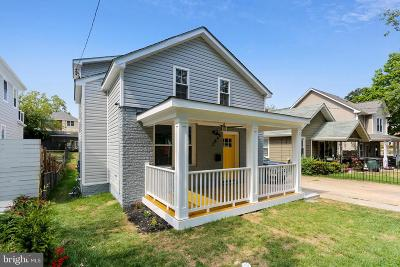 Washington Single Family Home For Sale: 2846 Myrtle Avenue NE