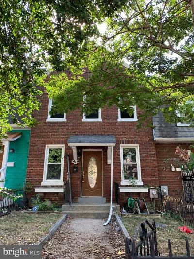 Washington Townhouse For Sale: 1419 Trinidad Avenue NE