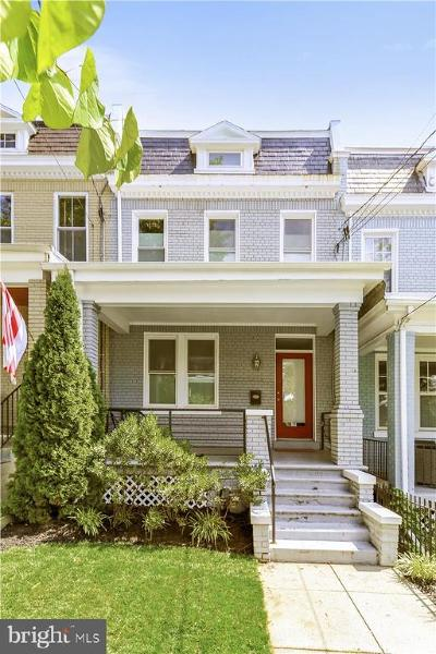 Washington Townhouse For Sale: 310 Upshur Street NW