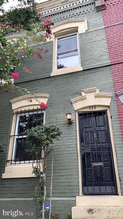 Washington DC Townhouse For Sale: $649,500