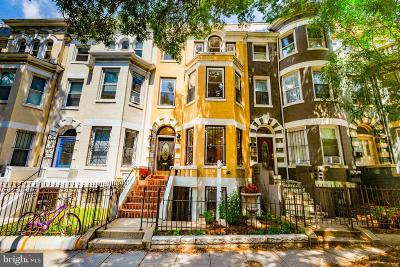 Washington Townhouse For Sale: 61 Rhode Island Avenue NW