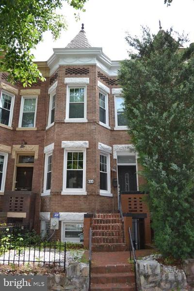 Washington Townhouse For Sale: 84 R Street NW