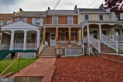 Townhouse For Sale: 4907 New Hampshire Avenue NW