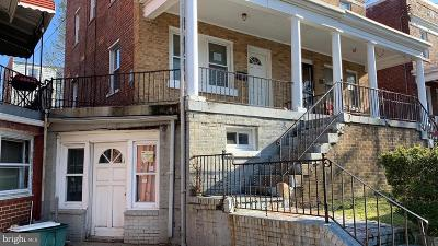 Townhouse For Sale: 603 Somerset Place NW
