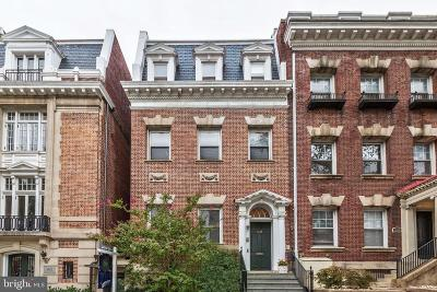 Washington DC Townhouse For Sale: $3,995,000