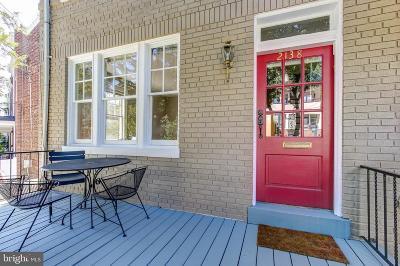 Washington Single Family Home For Sale: 2138 37th Street NW