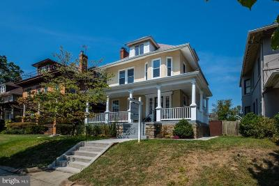 16th Street Heights Single Family Home For Sale: 1439 Kennedy Street NW