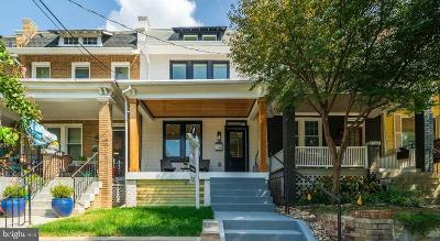 Washington Townhouse For Sale: 5021 8th Street NW