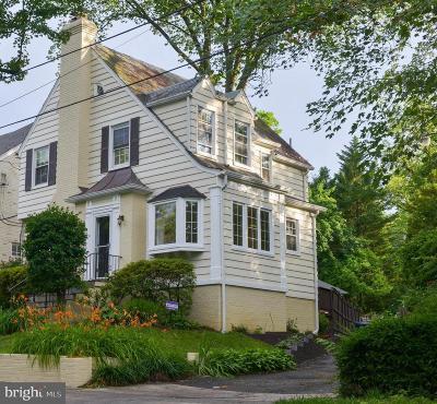 Washington DC Single Family Home For Sale: $865,000