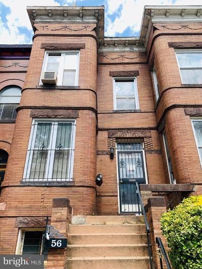 Washington Townhouse For Sale: 56 Quincy Place NE