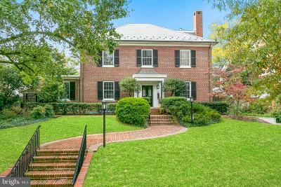 Washington Single Family Home For Sale: 3120 Woodley Road NW