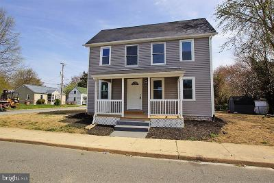 Smyrna Single Family Home For Sale: 136 Lincoln N