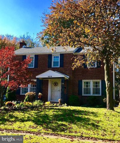 Wilmington DE Single Family Home For Sale: $299,900
