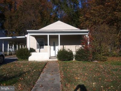 Wilmington DE Single Family Home For Sale: $89,900