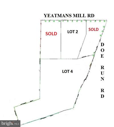 Newark Residential Lots & Land For Sale: 1794 Yeatmans Mill Road