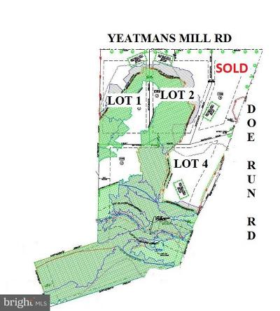 Newark Residential Lots & Land For Sale: 1792 Yeatmans Mill Road