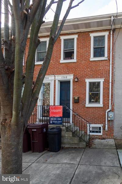 Wilmington Townhouse For Sale: 1908 Gilpin Avenue